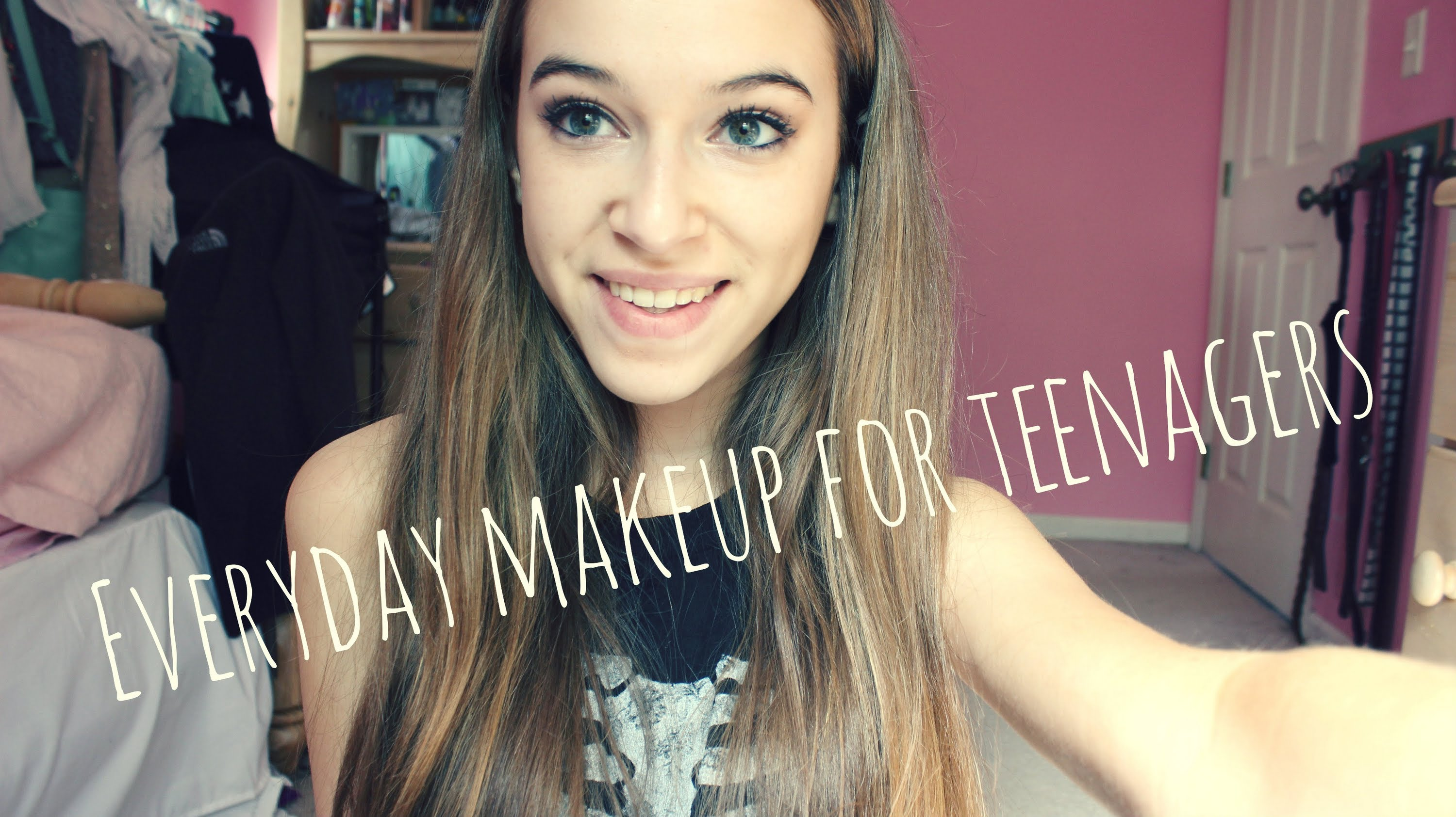 Everyday Neutral Makeup for teenagers!