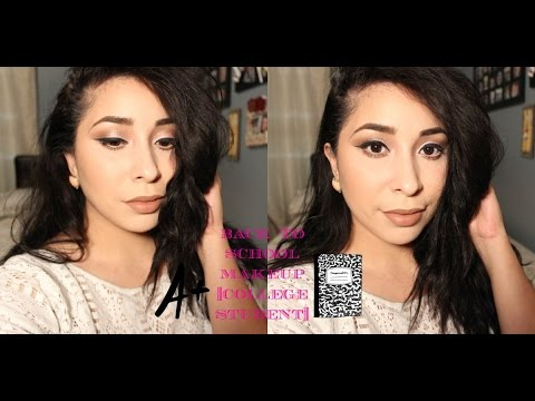 Drugstore Back to School Makeup Tutorial| College Student| Jocelyn Bautista