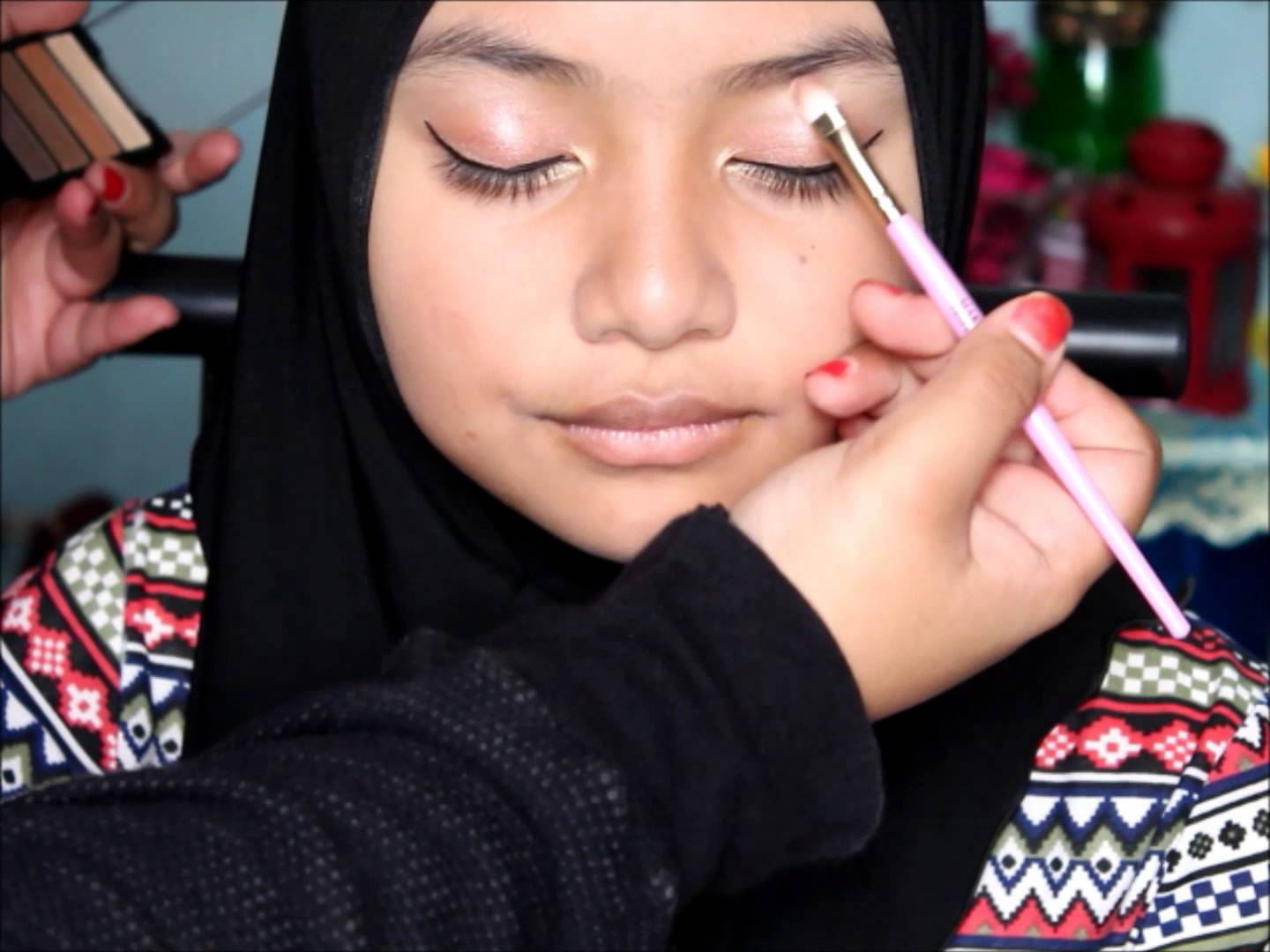 Simple Eid Makeup for Teenager