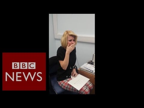 Deaf woman hears after 40 years of silence – BBC News