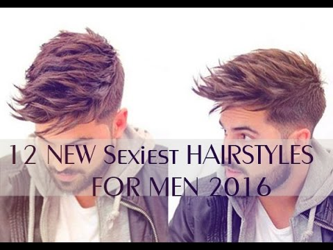 12 New Sexiest Hairstyles For Men 2016