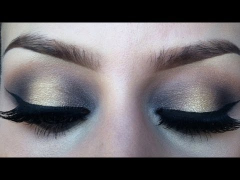 Two toned eyeshadow makeup tutorial