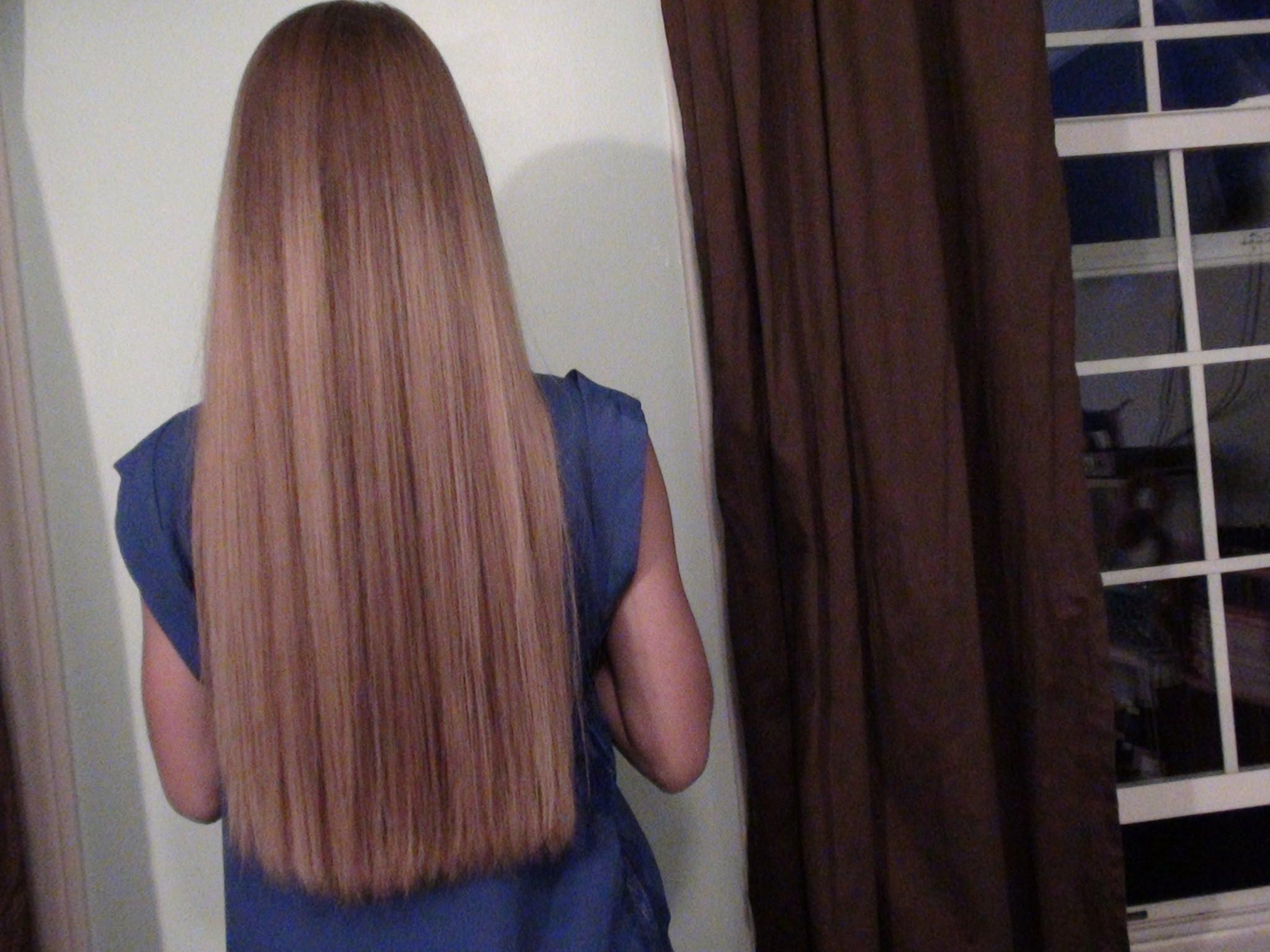 My Hair Straightening Routine
