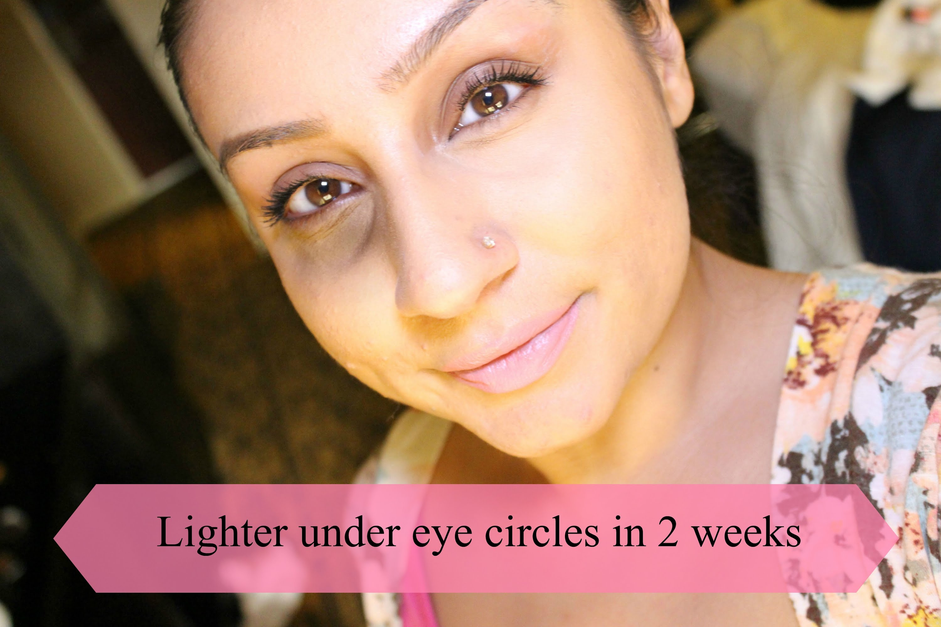 How To Lighten dark circles under eyes in 2 weeks | Makeup With Raji