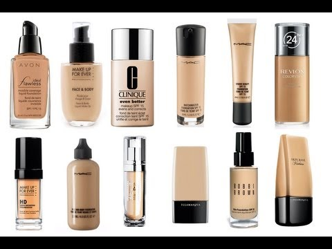 THE BEST LIQUID FOUNDATIONS – EVER!!!!
