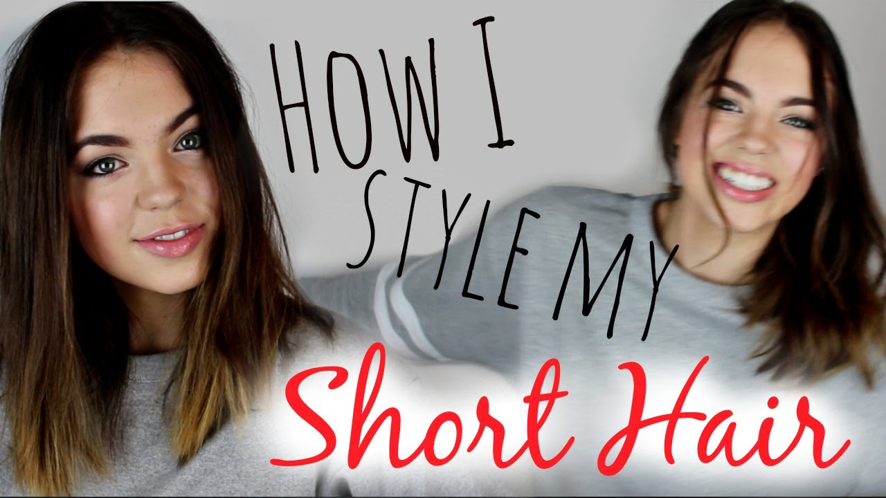 How to Style Short Hair! (3 Easy Hairstyles)