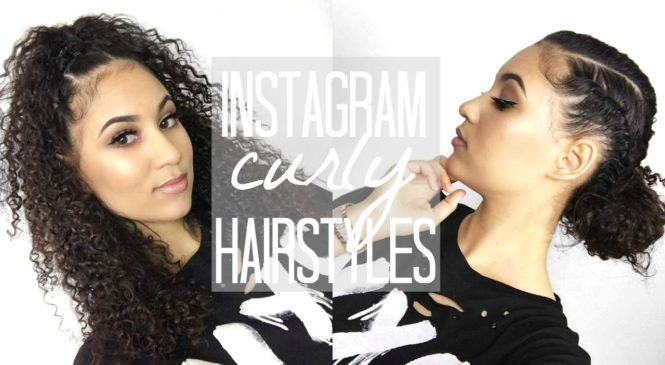 INSTAGRAM CURLY HAIRSTYLES