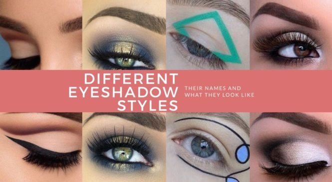 7 Different Eyeshadow Styles And What They Look Like