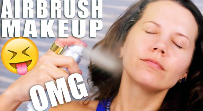 AIRBRUSH MAKEUP TESTED … OMG!!!
