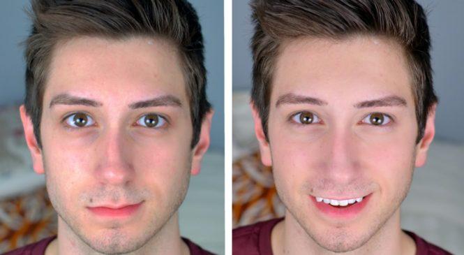 """Natural """"No Makeup"""" Makeup Tutorial for Men"""