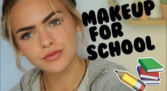 Natural Drugstore Makeup Tutorial for School | Summer Mckeen