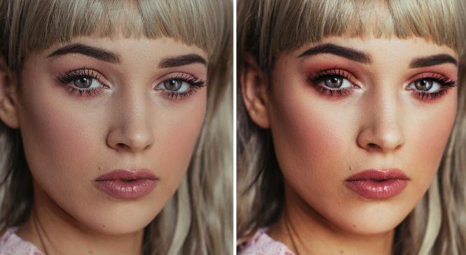 Enhance Makeup in Photoshop – Good for Makeup Artists!