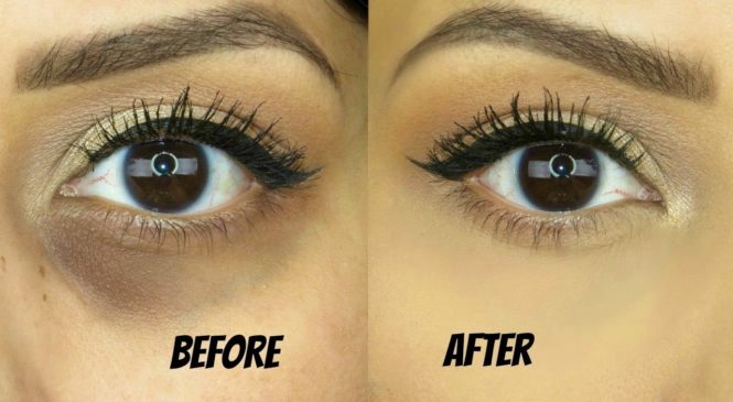 Conceal Dark Circles- NO creasing!  (drugstore products)