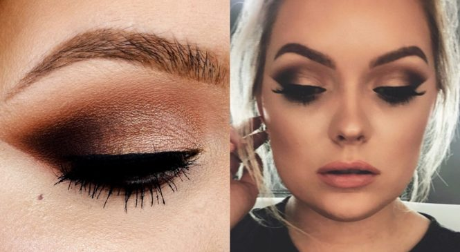 Smokey Cat Eye Makeup Tutorial