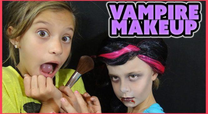 HALLOWEEN MAKEUP TUTORIAL   VAMPIRE COSTUME IDEAS     MAKEUP MONDAY EP 8
