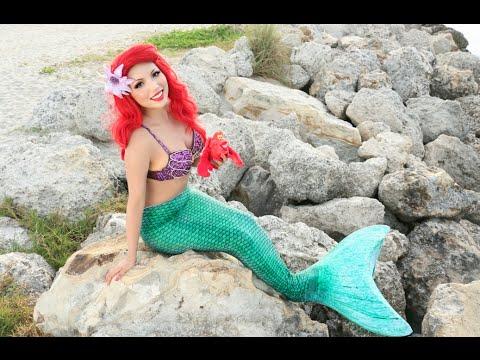 Disney's Little Mermaid Makeup Tutorial !!!