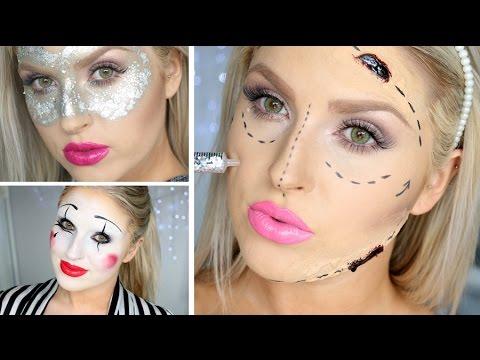 Last Minute Halloween Ideas ♡ 3 Makeup Looks!