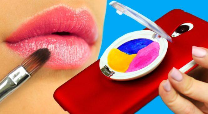 DIY Phone Case Designs – 7 Makeup Ideas
