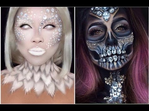 Top 15 Maquiagens para Halloween. (Easy Makeup) @larissacastroof