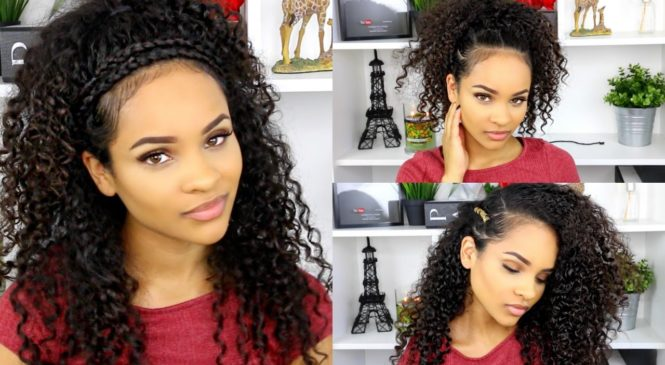 Curly Hairstyles For School