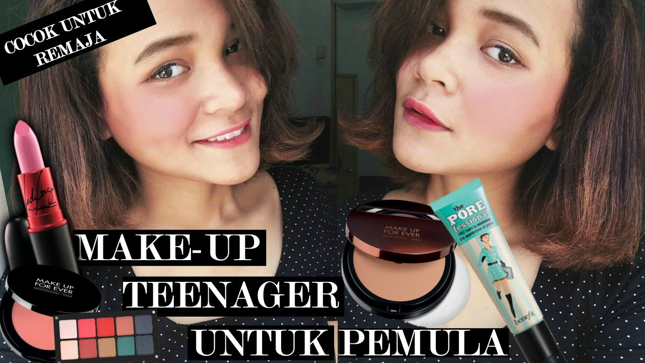 [HD] Belajar Makeup Untuk Remaja Pemula / Makeup for Teenager ( Bahasa Indonesia )   Dinda Shafay