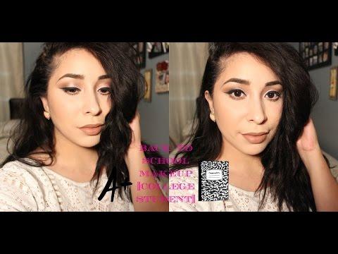 Drugstore Back to School Makeup Tutorial| College Student| Jocelyn Bautista