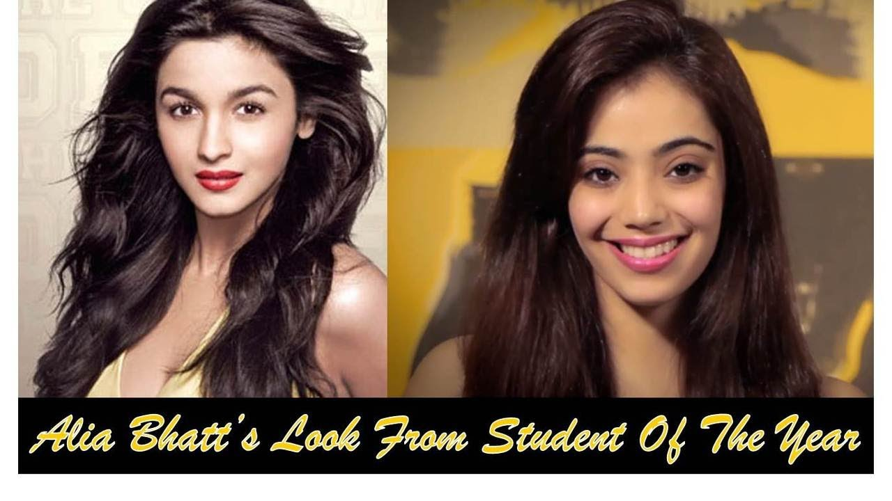Alia Bhatt's Look in Student Of The Year/Everyday College Look (Hindi)
