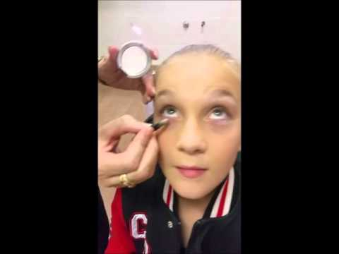 Creative Dance Academy Concert Make up Tutorial for General Students
