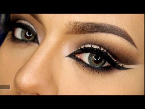 Feline Cat Eye Makeup Tutorial *GRWM*    LoLo Love
