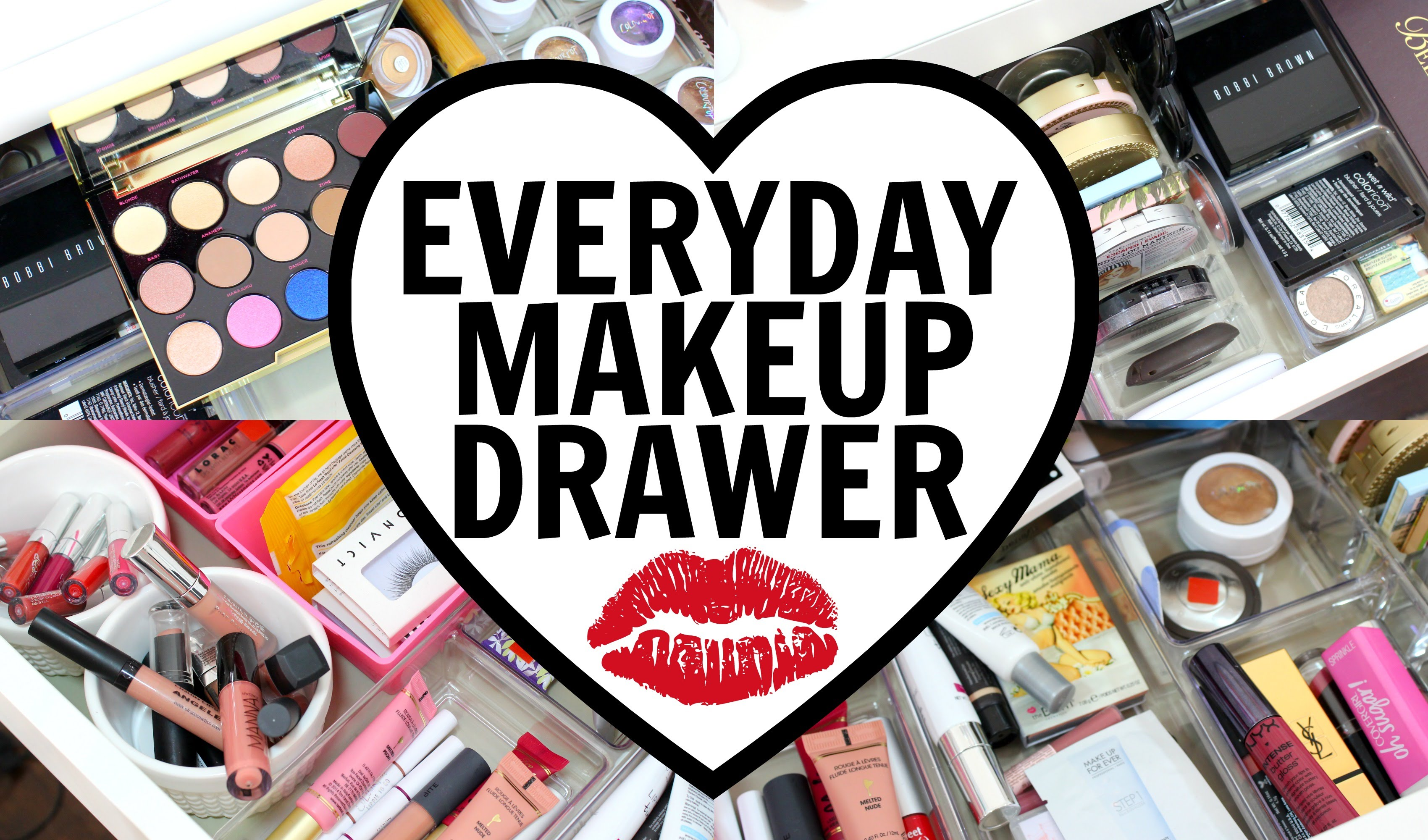 Everyday Makeup Drawer February 2016!   Part 10