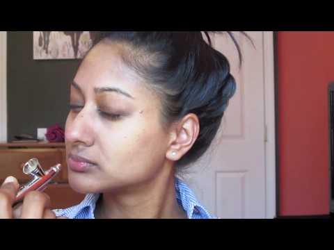 Luminess Air Airbrush Makeup Demo   Makeup By Megha