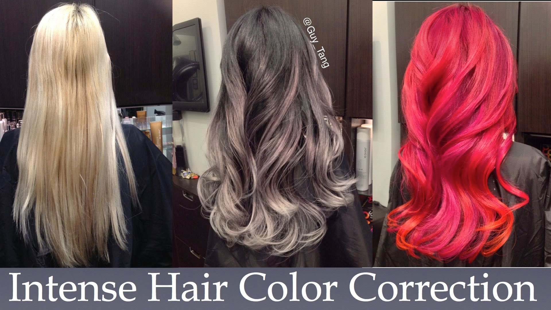 Intense Hair Color Correction