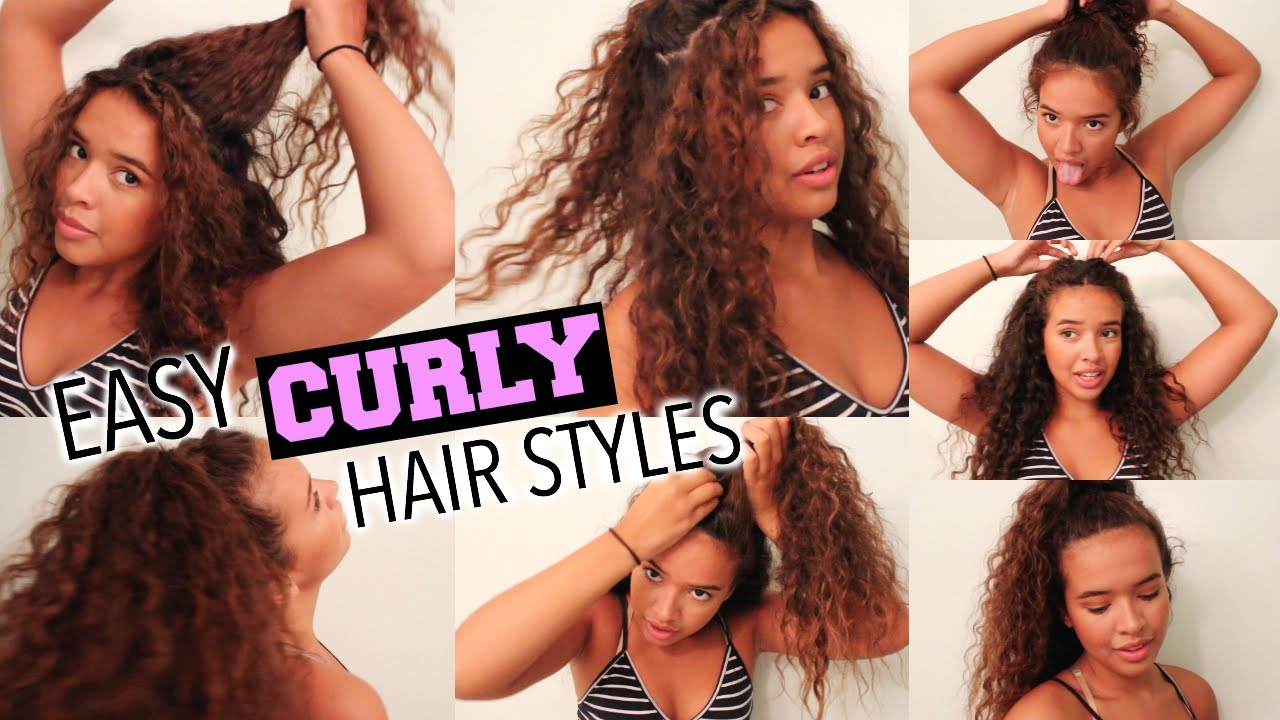 Back To School Hairstyles for Curly Hair