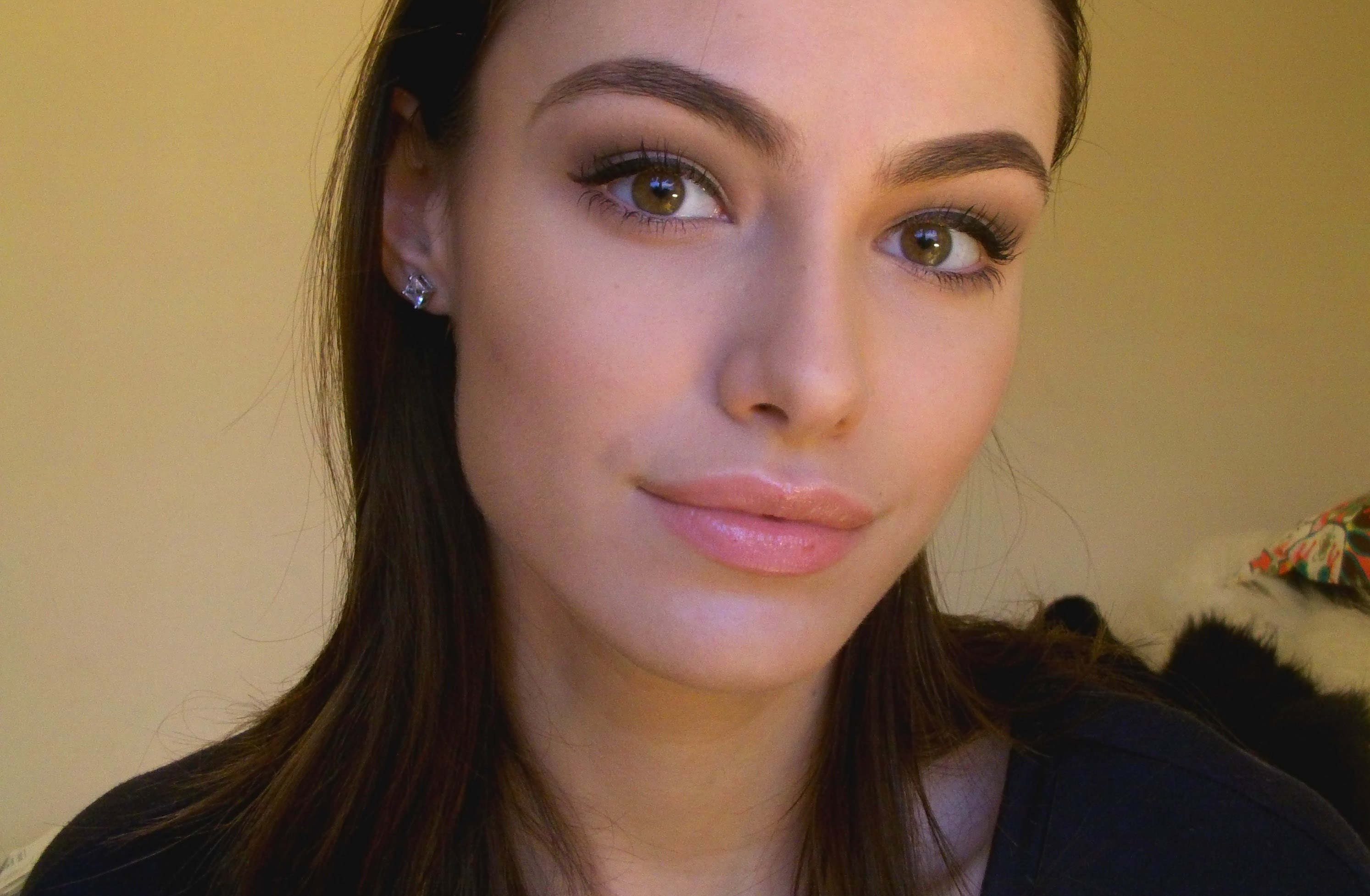 Requested – Soft Brown Defined Eyes with Winged Liner Tutorial