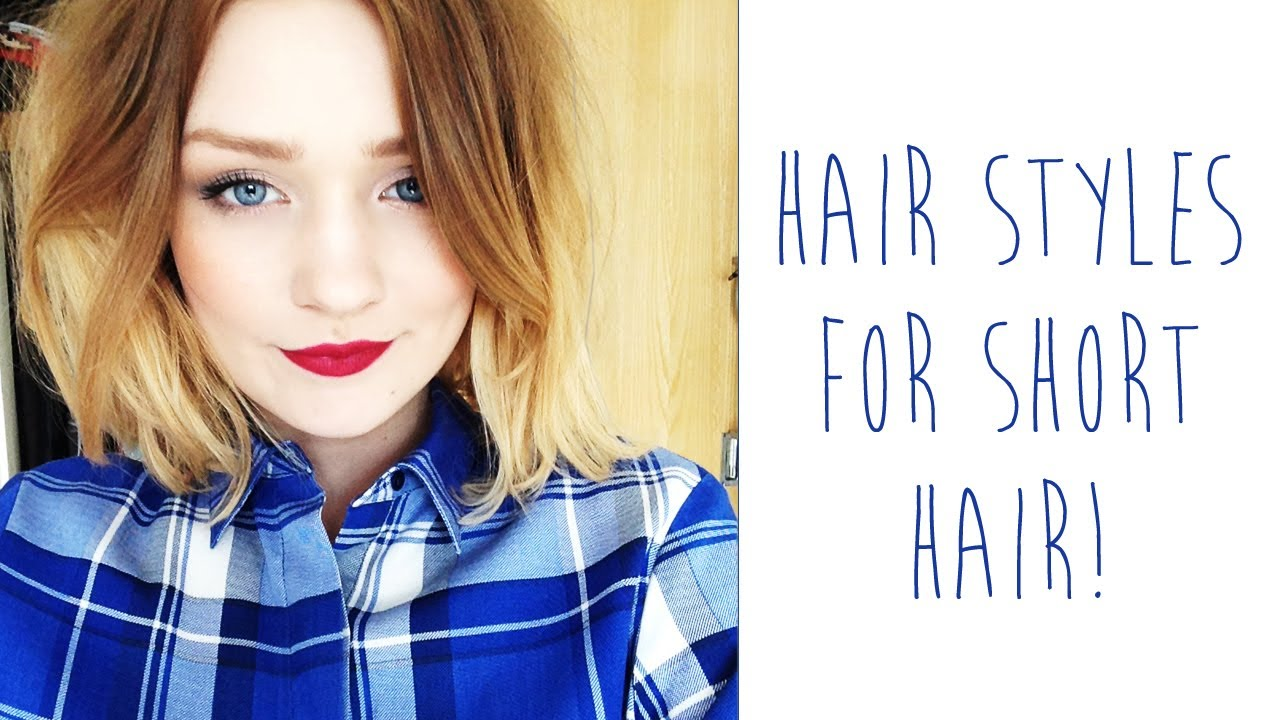 Hair styles for SHORT HAIR | tinytwisst