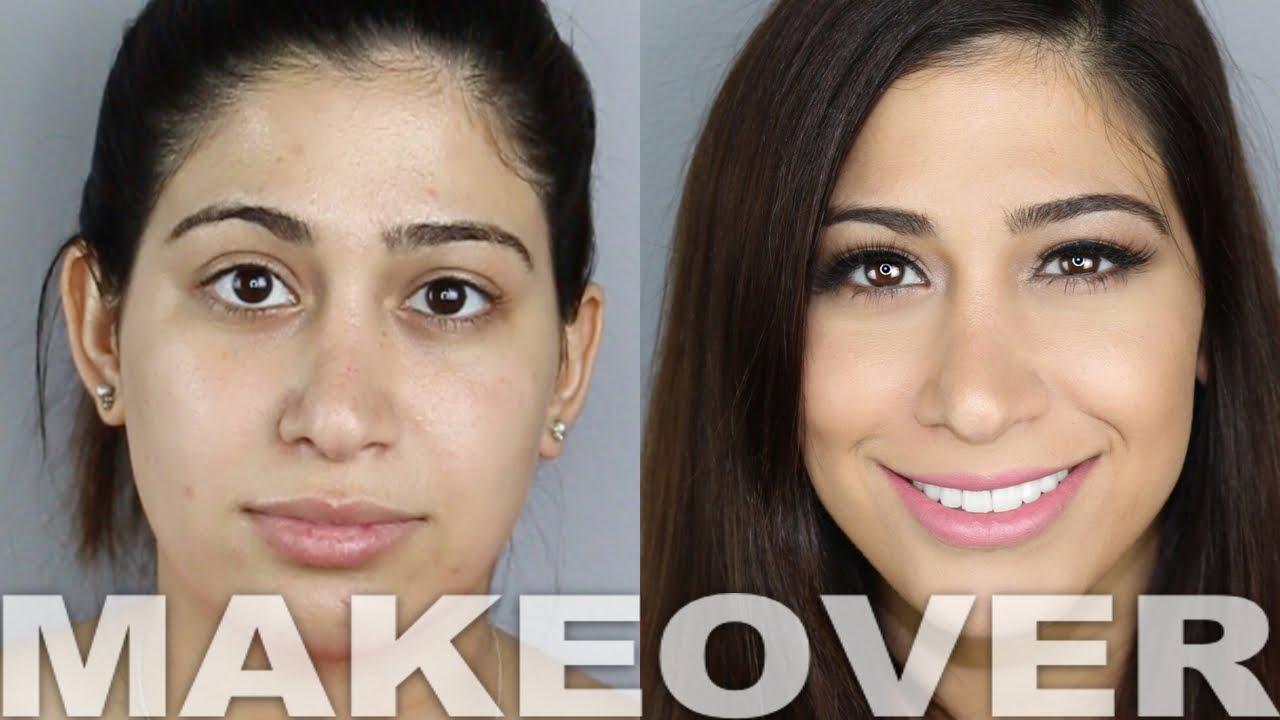 Airbrush Makeup Tutorial Makeover!   Alex Faction