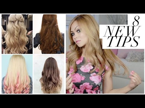 HOW TO GET ANY HAIR COLOR AT HOME!  8 CRAZY DIY TIPS :)
