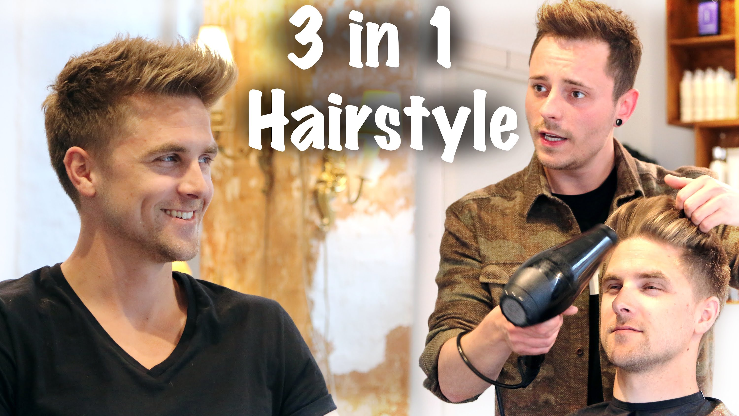 3 Hairstyles in 1 Haircut ★ Professional hair inspiration for men