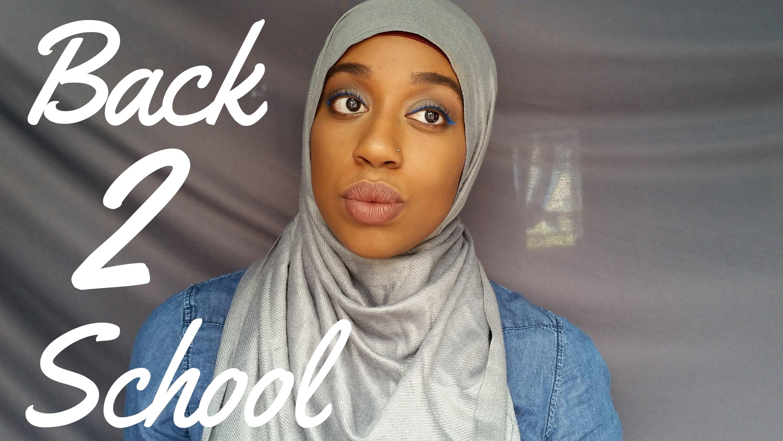 Back 2 School Makeup Look | College Students