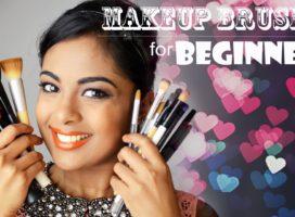 Beginner's Guide to Basic Makeup Brushes