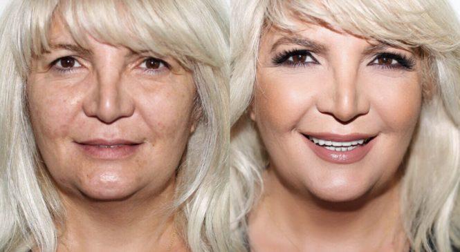 My Mom Gets a Makeover   Mature Skin Makeup Tutorial