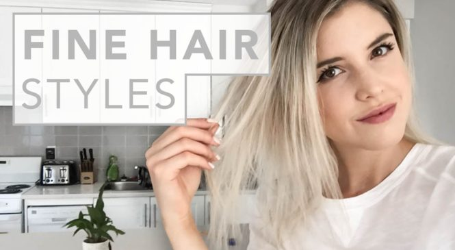 HAIR HACKS   for fine and thin hair