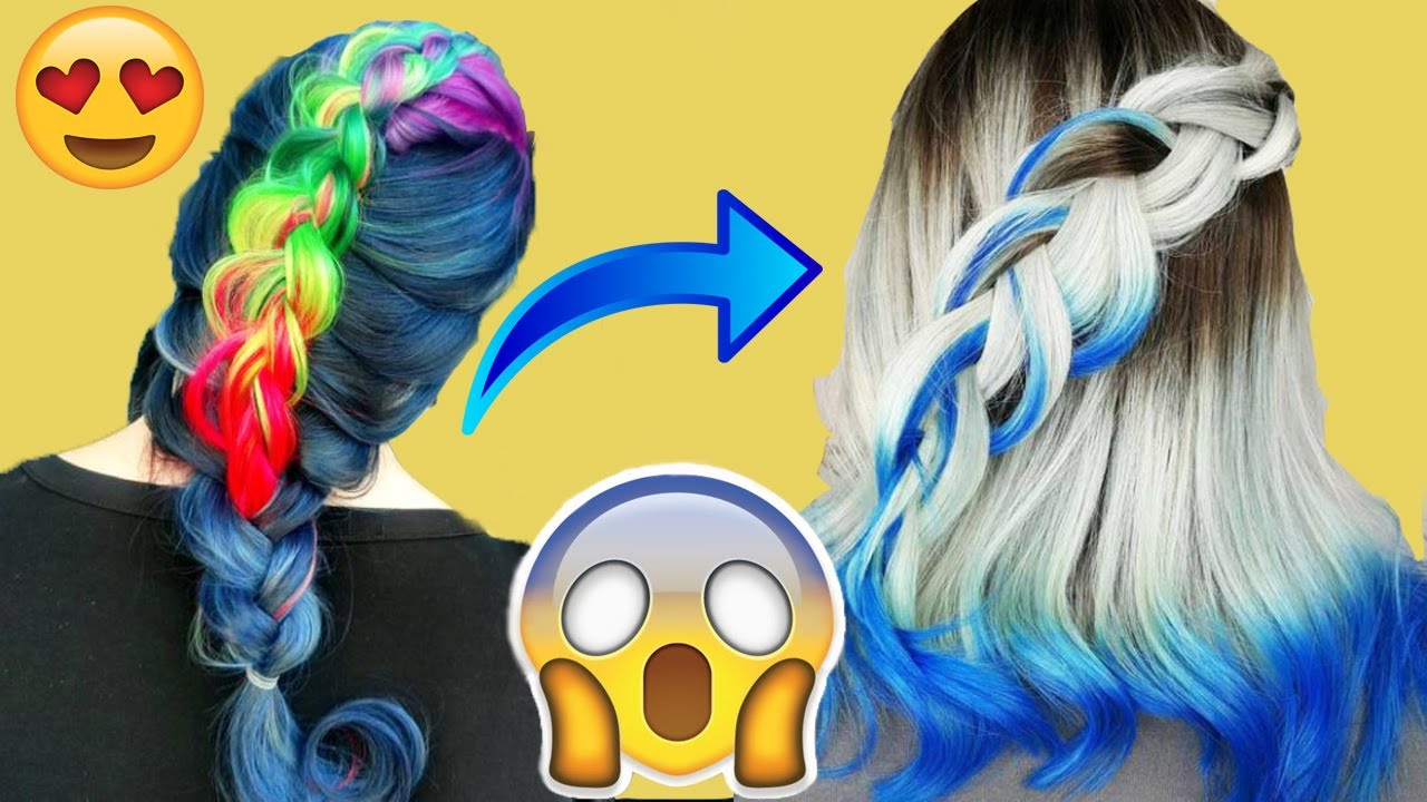 NEW Hair color transformation – MUST SEE 2017  #2