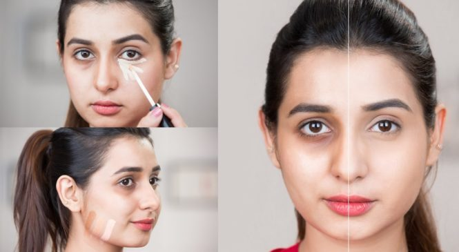 Simple Foundation Makeup Tutorial For Flawless Skin | Base Makeup Tutorial For Beginners