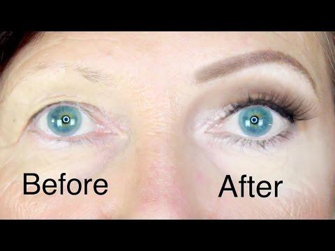 Hooded Eyes Makeup for Mature Skin   Stephanie Lange