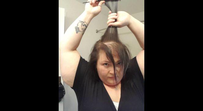 Thin hair magic! Disguise thin and balding hair.
