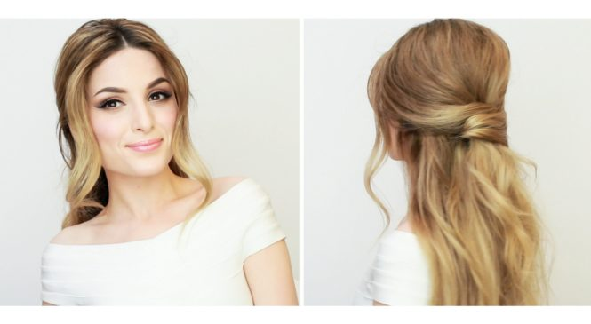 Valentine´s day makeup and hair tutorial!