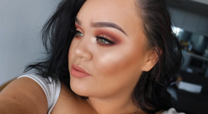 PEACH MONOCHROMATIC Makeup Tutorial ft. Kylie Cosmetics
