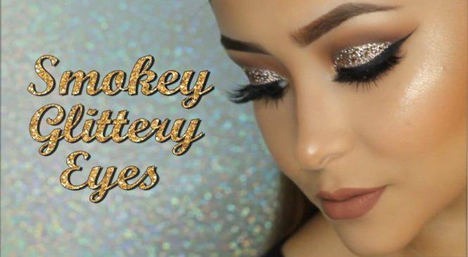 Prom Makeup: Smokey Glittery Eyes | Daisy Marquez