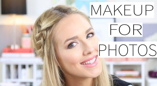 Makeup For Photos Tutorial – On Camera Makeup